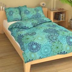 Krepové povlečení výšivka tyrkysová 9364-65 Comforters, Blanket, Bed, Furniture, Home Decor, Homemade Home Decor, Stream Bed, Home Furnishings, Rug