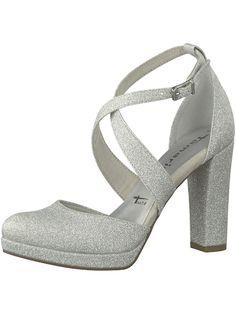6862a83c950e0e TAMARIS High Heels silber  schuhe  fashion  shoes  highheels  shoppingonline