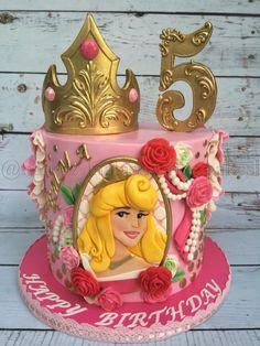 Princess Aurora cake  by Natasha Rice Cakes