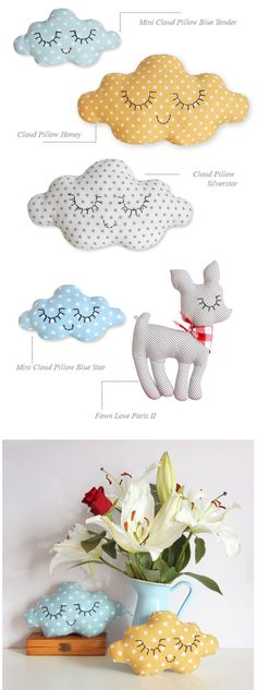 Childrens French Cushions from ZÜ