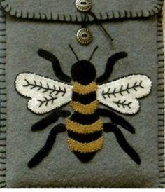 Bee Embroidery, Brooch, Tattoos, Jewelry, Tatuajes, Jewlery, Jewerly, Brooches, Tattoo