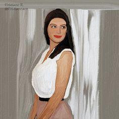 Cristiane Rodrigues ღ: Minha fã artes.