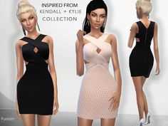 Sims 4 CC's - The Best: Dress by Puresim