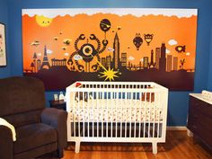 I want a Dune or sci-fi themed nursery.  Sci-fi Nursery Themes for Your Little Monster