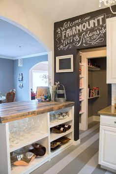 1407 S Adams St, Fort Worth, TX 76104 - Zillow  Lets make this chalkboard art for exposed chimmney