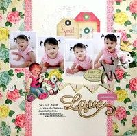 A Project by yuko tanaka from our Scrapbooking Gallery originally submitted 11/11/12 at 07:56 AM