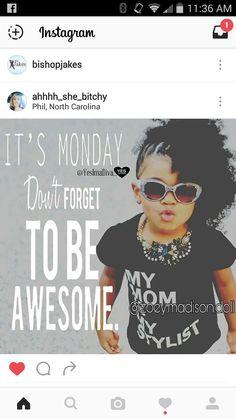 Happy Monday to You!