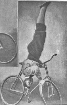 Cycling through the Archives: Trick Riding Amazing People, Good People, Trick Riding, Stunt Bike, Bmx Freestyle, Scientific American, Vintage Bikes, Stunts, Bicycles