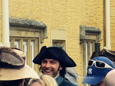 """arikishirley: Aidan in the middle of filming (Poldark BBC remake). These nine photo are """"Aidan I-love-looking-at-the-camera Turner"""" series.D part 1 , part 2 No further editing,no removing of water-print,no repost,please. Ross Poldark, Water Printing, Aidan Turner, Handsome, Film, Bbc, Middle, Google Search, Movie"""