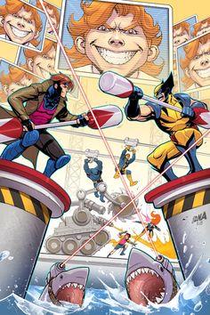 X-Men '92 #2 Variant - David Nakayama