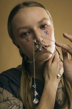Estonian Soul w/ Claudia Lepik Lookbook Exclusive on@flanellemagazine Photo:@arnaudlafeuillade Jewelry: @claudia.lepik Stylist:@jer0mans MUA:@maretubaleht Model:@hhherdis Assistant: @jeanr0yer