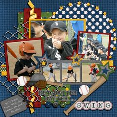 digital scrapbook but could make it with paper