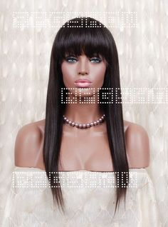 Stock Full Lace Human hair Wig - Straight -PTS001-s [PTS001] - $305.99 : Full Lace Wigs|Lace Front Wigs|Lace Wigs @ RPGSHOW
