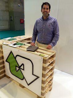 stands de materiales reciclado - Buscar con Google