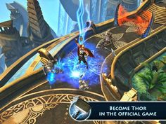 Thor: The Dark World - The Official Game App by Gameloft. Marvel, Comic Book Game Apps.