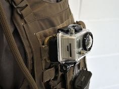"Deluxe #Military Vest Mount for 1"" Webbing or Kevlar  ITW Nexus's #Picatinny QASM-RAMP (Quick Attach Surface #Mount - Rail Accessory Mounting Platform) is the perfect #accessory for your mounting your #GoPro or #Contour to #Molle. The Picatinny QASM-RAMP is designed to mount, hold and/or organize any/all of your #M1913 Picatinny mountable accessories. Introduce this ultra-modular capability to your kit for unlimited mounting options in any location containing 1"" sewn webbing. The new…"