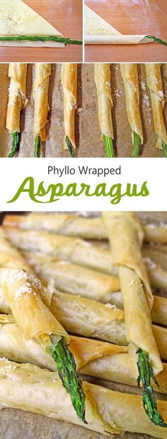 #Asparagus wrapped in #phyllopastry #dough will wow a crowd.
