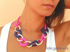 Lola Gominola: Complementos para todas!!! Washer Necklace, Jewelry, Fashion, Bonbon, Crochet Baby, Moda, Jewels, Fashion Styles, Schmuck
