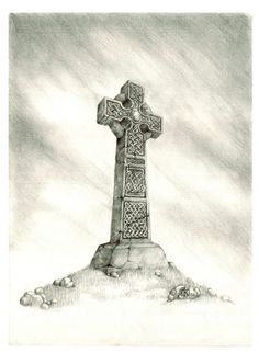 Simple Pencil Drawing Of A Celtic Cross 2b Mechanical Pencil