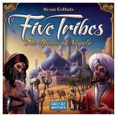 Five Tribes The Djinns of Nagala Board Game