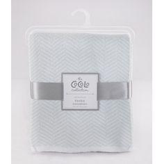 Cocalo - Herringbone Blanket - Starlight Blue
