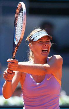 Maria Sharapova @ Mutua Madrid Open - Day Two May 4-2014 #WTA #Sharapova #Madrid