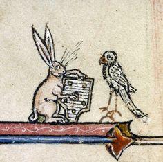 Discarding Images play it again, rabbit  Vincent of Beauvais, Speculum historiale, France ca. 1294-1297 (Boulogne-sur-Mer, Bibliothèque municipale, ms. 130I, fol. 344r)
