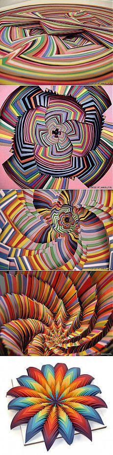 Потрясающие поделки из цветной бумаги | МАСТЕРА
