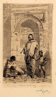"""Marià Fortuny, """"Famille marocaire"""" (Museu de Reus) a l'exposició """"Fortuny gravador"""" del Museu d'Art Jaume Morera"""