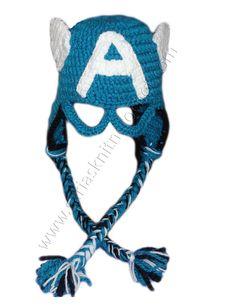 Captain America Hat for Toddler Boys