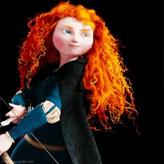 Merida Shooting Arrow