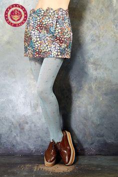 Women's Fashion Design Retro Floral Skirts,$69