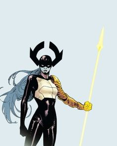 Proxima Midnight in The Unworthy Thor - Olivier Coipel Marvel Comic Character, Marvel Characters, Marvel Movies, Thanos Marvel, Marvel Vs, Proxima Midnight, Female Villains, Black Order, Avengers Age