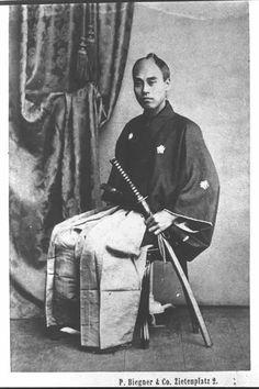 福沢諭吉(1862年、ベルリンにて)