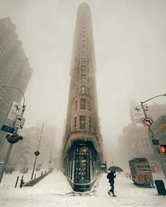 #newyork #winter #tower #cold