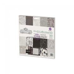 Prima Marketing Salvage District collection Kit 12x12