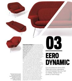 Saarinen Womb Settee Featured in May 2017 Issue of Azure | Features | Knoll News