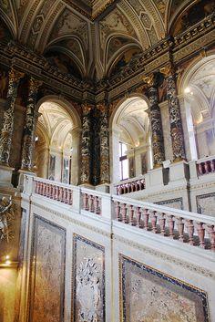 Inside the Kunsthistorisches Museum  - Vienna, Austria