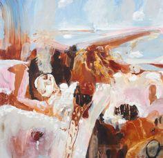 #Luke Sciberras Abstract Landscape Painting, Artist Painting, Figure Painting, Landscape Art, Landscape Paintings, Abstract Art, Urban Landscape, Australian Painters, Australian Artists