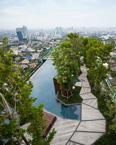 Life @ Ladprao 18 Condominium Garden- Bangkok,Thailand- Shma