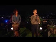▶ London Grammar - Darling Are You Gonna Leave Me (Acoustic Session at Glastonbury 2013) - YouTube