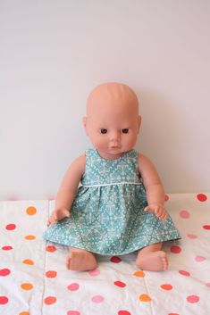 baby doll clothes pattern - shirts and shorts