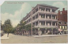 Known Over The Years As White Hall Hotel National And Jack S Department House Is One Of York Most Recognizable