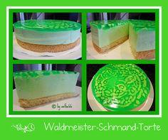 'Waldmeister-Schmand-Torte'