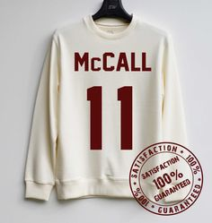 Scott Mccall Shirt Teen Wolf Lacrosse Jersey by SweaterWeather2014