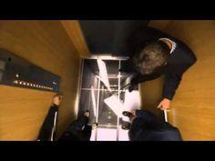 LG IPS screen Halloween Elevator Prank- Falling Floor