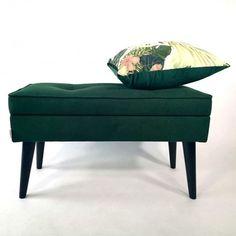 Ławeczka LOVARE ze schowkiem - Rękodzieła i Handmade od Rossi Furniture Poufs, Ottoman, Chair, Storage, Benches, Furniture, Handmade, Home Decor, Purse Storage