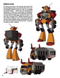 Wreckgar - transformers animated Weird Al Yankovic as the voice