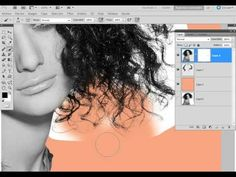 calado de cabello perfecto - photoshop - YouTube