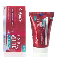 COLGATE VISIBLE WHITE SHINE TOOTH PASTE  100G